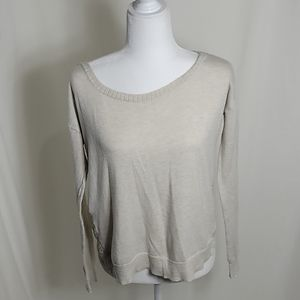 American Eagle Lace Back Sweater